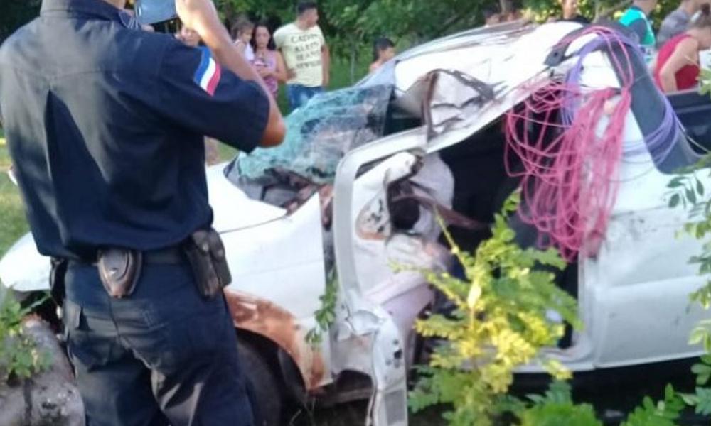 Grave accidente se cobró la vida de tres personas en Yby Yaú