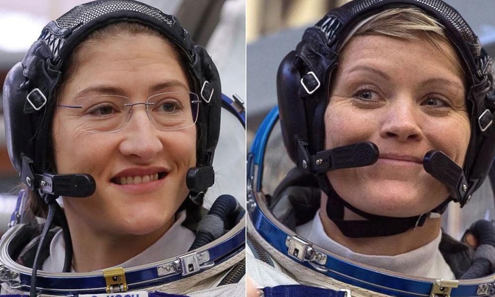 NASA espera que caminata de mujeres inspire a nuevas generaciones