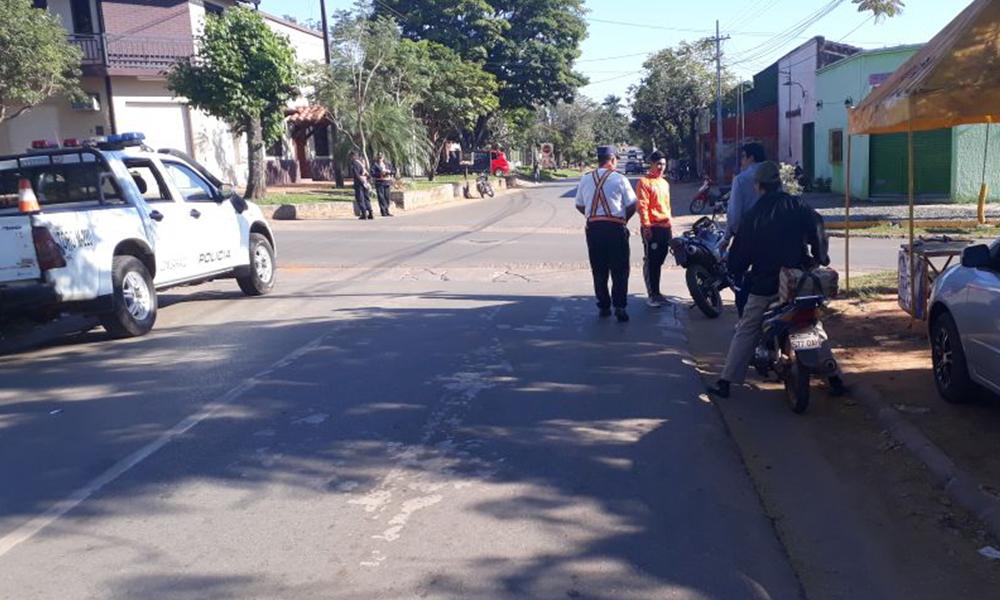 Policía Nacional y Municipal copa calles de Oviedo ejecutando controles