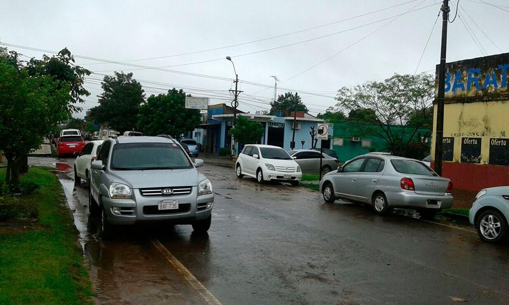 Señales de tránsito no son respetadas en Coronel Oviedo
