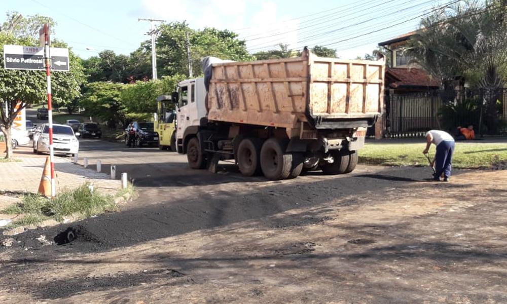 Inician recapado de calles en Coronel Oviedo