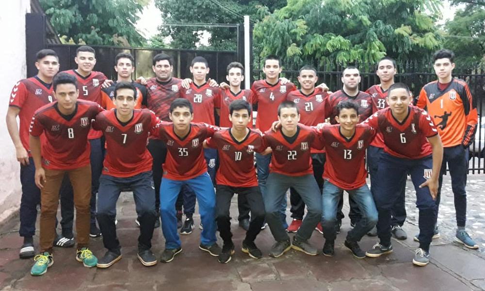 Oviedo U16 de handball listo para las finales de Hernandarias 2018