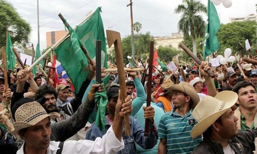 Campesinos amenazan con volver a copar Asunción