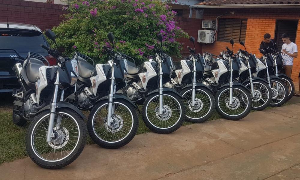Reemplazan motocicletas del Grupo Lince por 0 Km