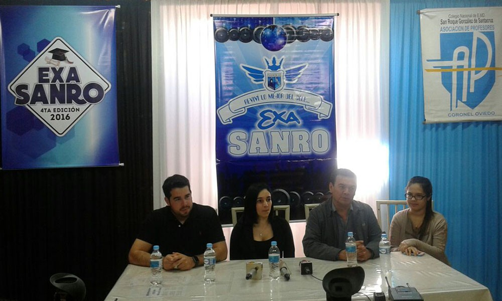 Todo listo para la cuarta edición del Exa Sanro