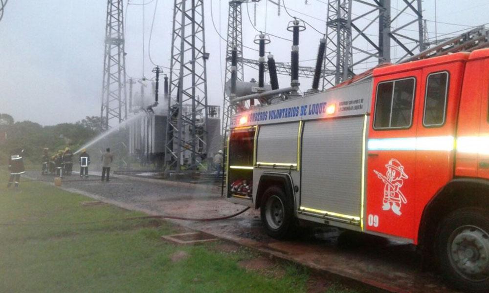 El incendio se habría producido por una rayo.   Antonia Delvalle Castillo a0ea14fd95a