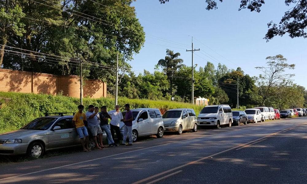 Taxistas del Norte en pie de guerra contra la municipalidad