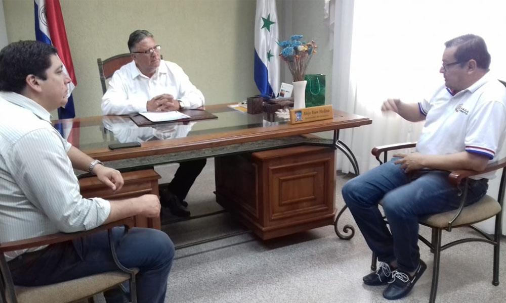 Hospital de Coronel Oviedo recibe aporte de la gobernación