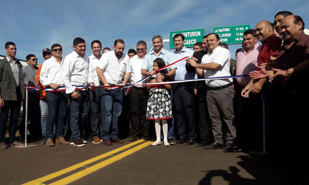 Gobierno habilita ruta Coronel Oviedo – La Pastora
