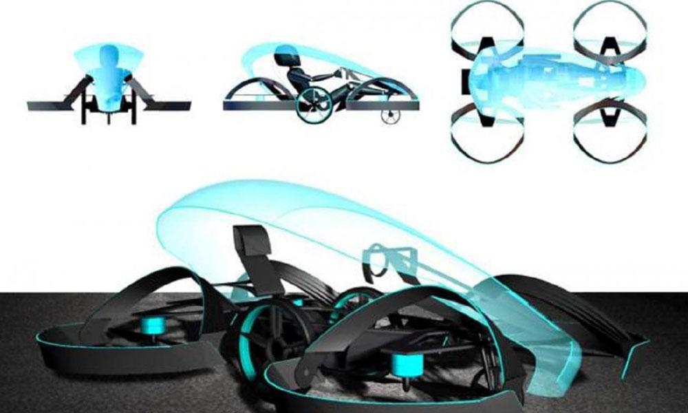 El gobierno japonés quiere que los automóviles voladores circulen en 2023