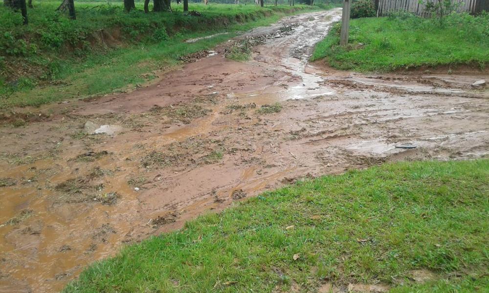 Exigen reparación de camino en barrio San Isidro de Coronel Oviedo