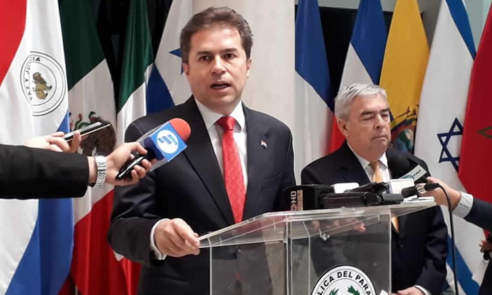 """Castiglioni: """"Cierre de Embajada de Israel en Paraguay es apresurado y exagerado"""""""