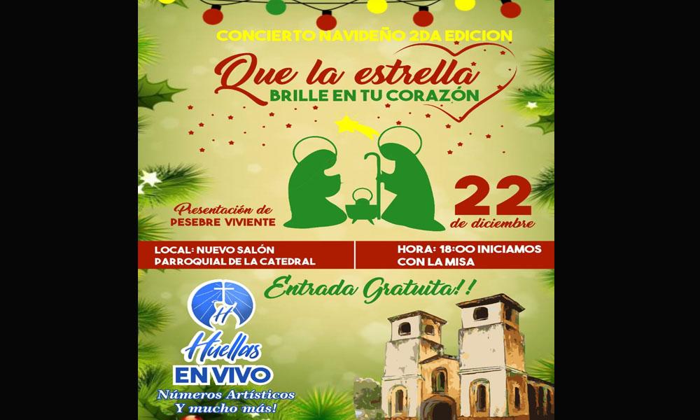 Preparan recital navideño y pesebre viviente en la Catedral
