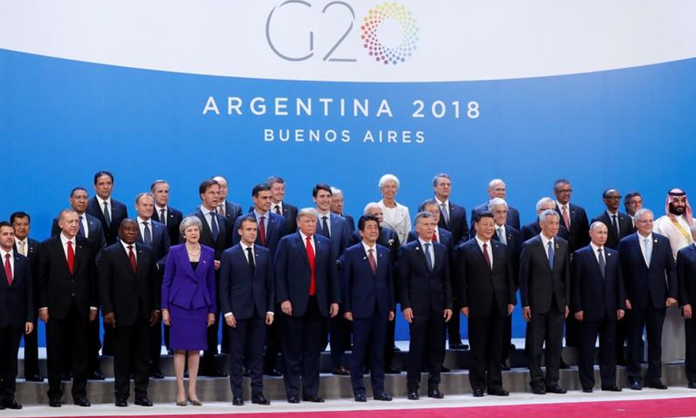 Líderes de G20 enfrentan una cumbre ensombrecida por disputas