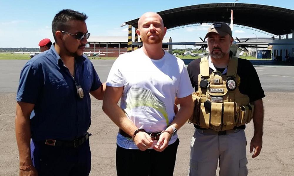 Narcotraficante israelí escapa en Brasil