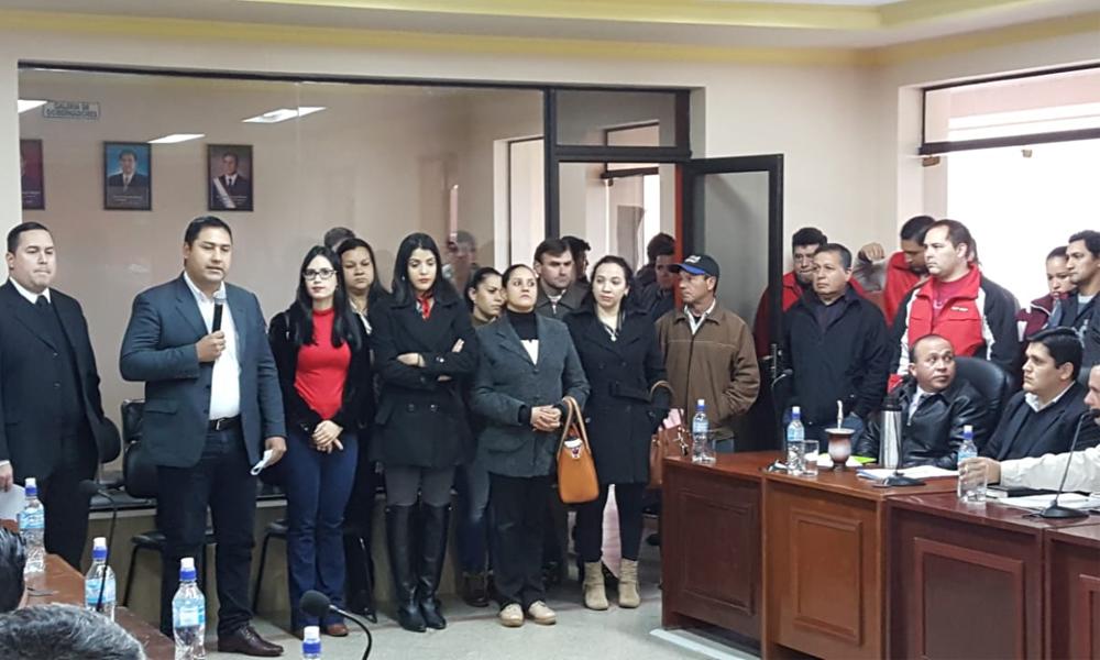 Funcionarios desvinculados de la gobernación piden reconsideración