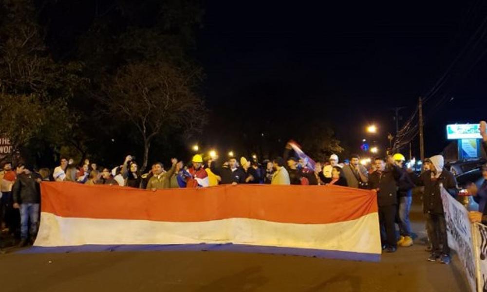50 días de manifestaciones contra el clan Zacarías