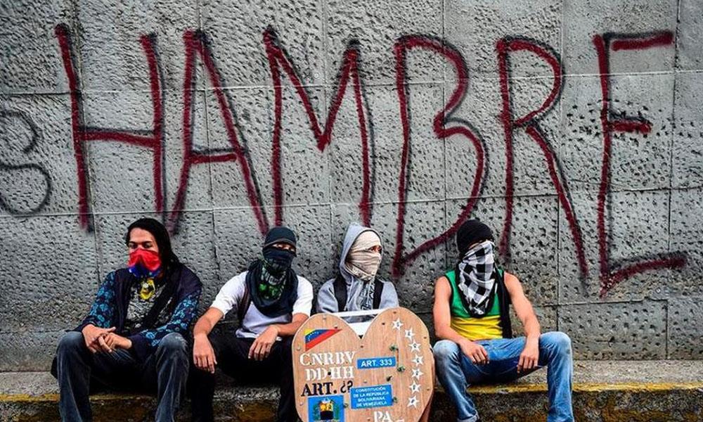 En Venezuela la gente roba para sobrevivir