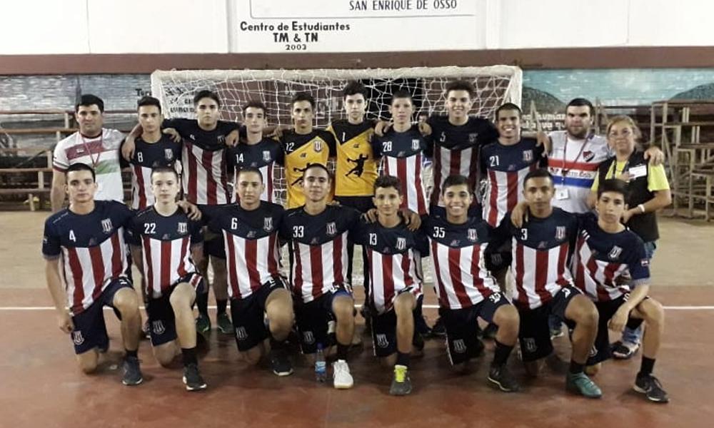 Selección Ovetense de Handball Sub 16 finalista del Campeonato Nacional Hernandarias 2018
