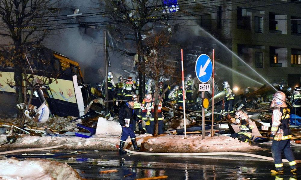 Explosión en un restaurante de Japón deja 42 heridos