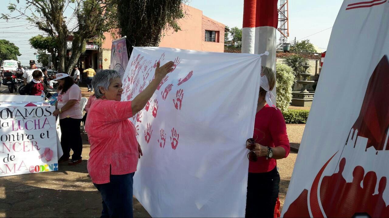 """Secretaría de la Mujer inició """"semana rosa"""""""