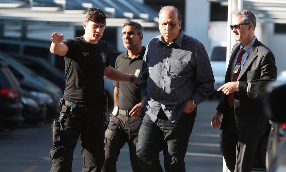 Gobernador de Río de Janeiro es arrestado por corrupción