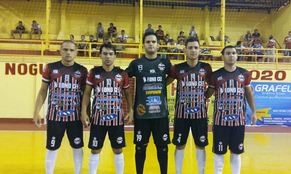 Negro debut Ovetense en el Nacional de Fútbol de Salón