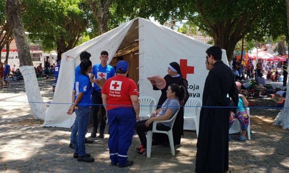 Caacupé: Salud en código rojo para la atención a los peregrinos