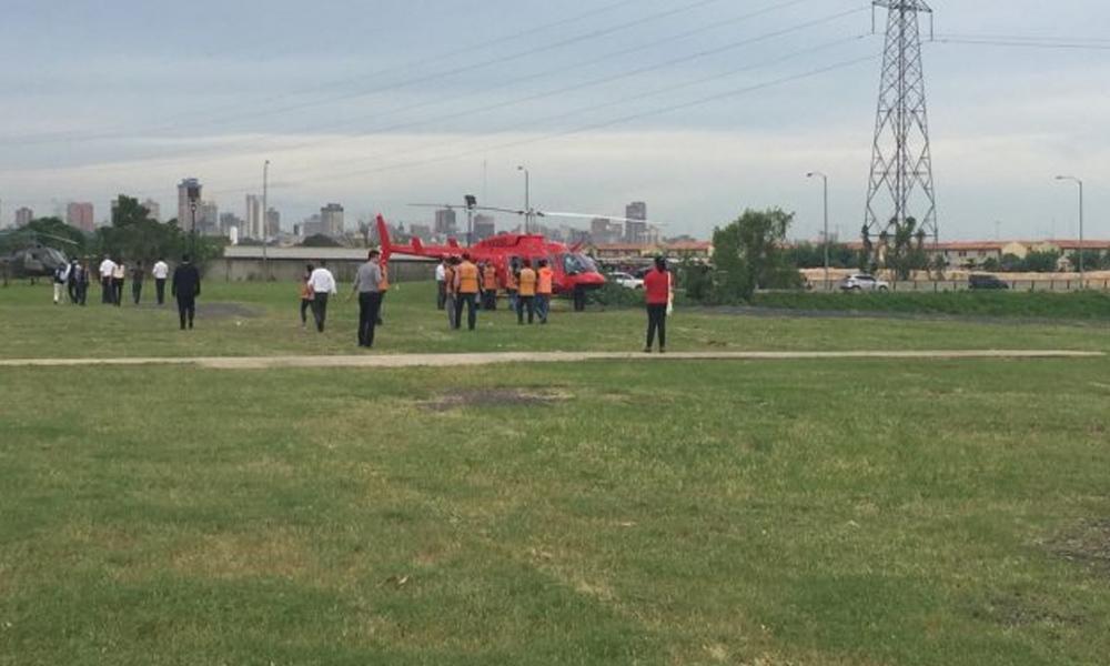 Con helicópteros, buscan criaderos de mosquitos en Asunción