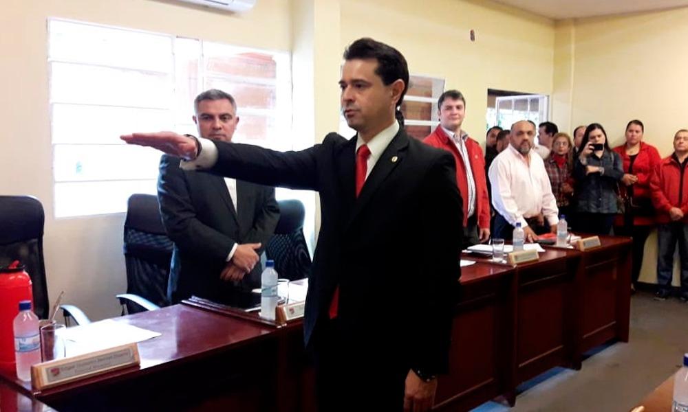 El nuevo concejal de Coronel Oviedo