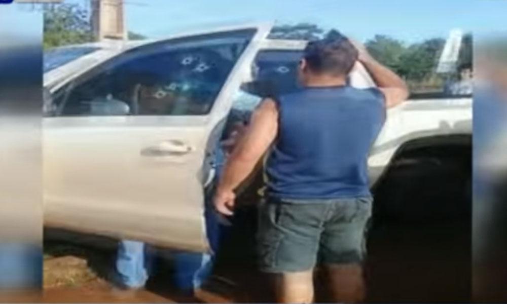 Revelan video del asesinato de un ingeniero en Minga Guazú