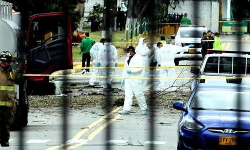 Ataque terrorista ha dejado una veintena de muertos en Bogotá