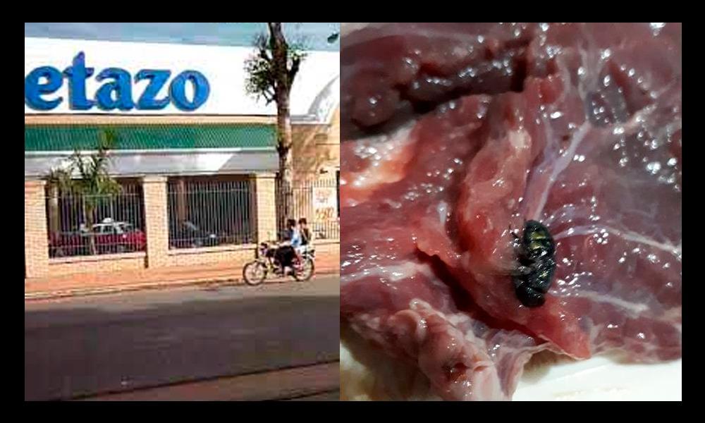 Supermercado sigue vendiendo carne a pesar de constatarse estado de descomposición