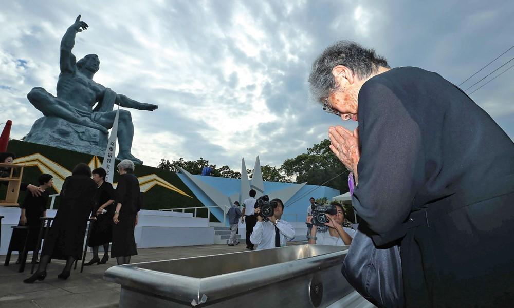 Conmemoran 71 años del bombardeo atómico en Nagasaki