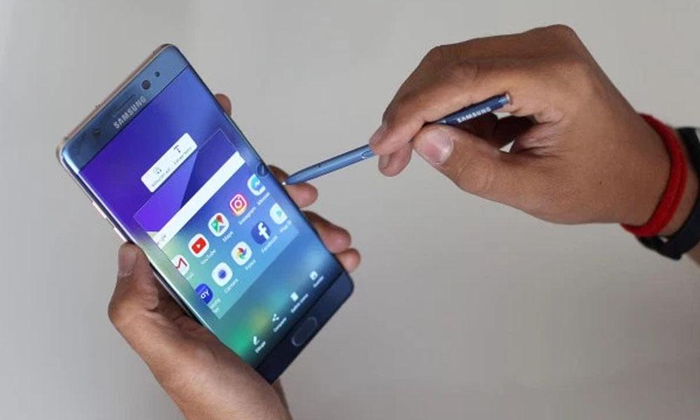 Por los problemas del Galaxy Note 7 las acciones de Samsung se hunden