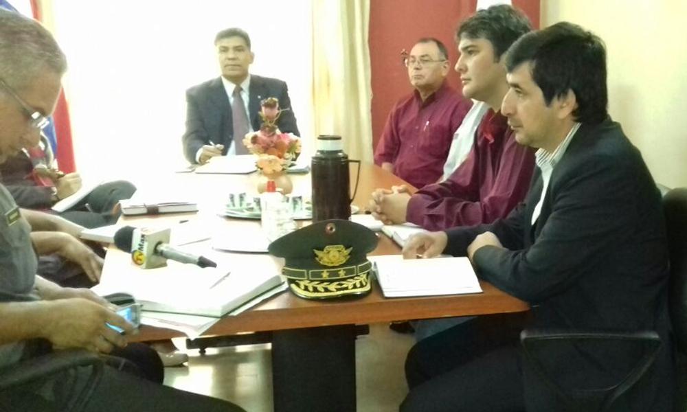 Municipalidad ausente en reunión de coordinación para control de fin de semana