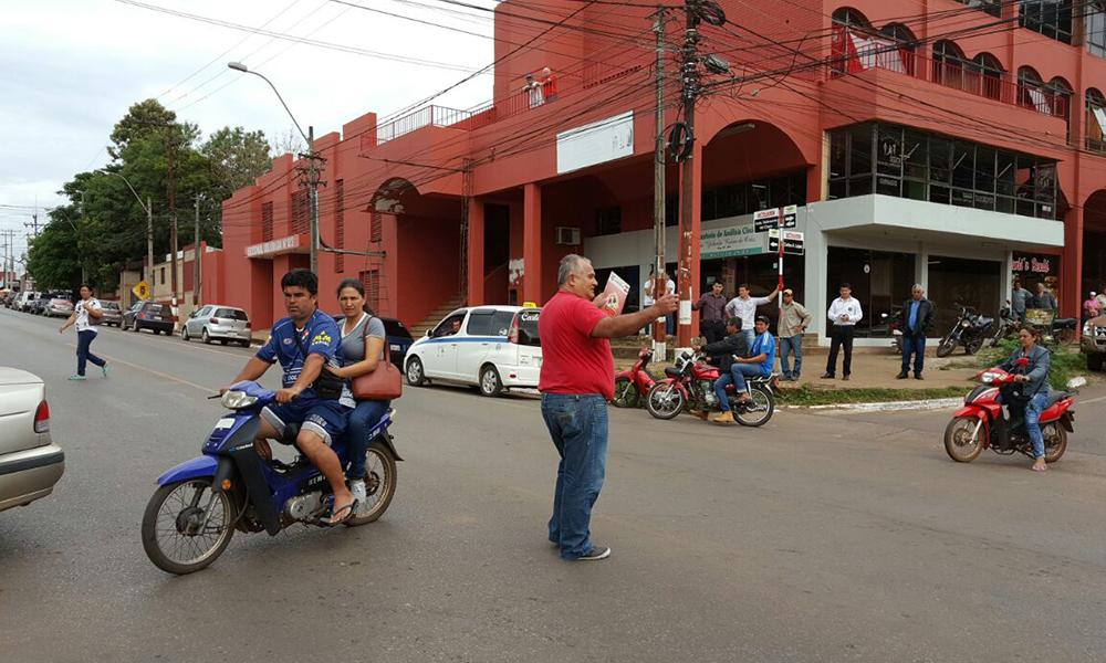 """Willian Vera: """"Es jurisdicción de la Patrulla Caminera"""""""
